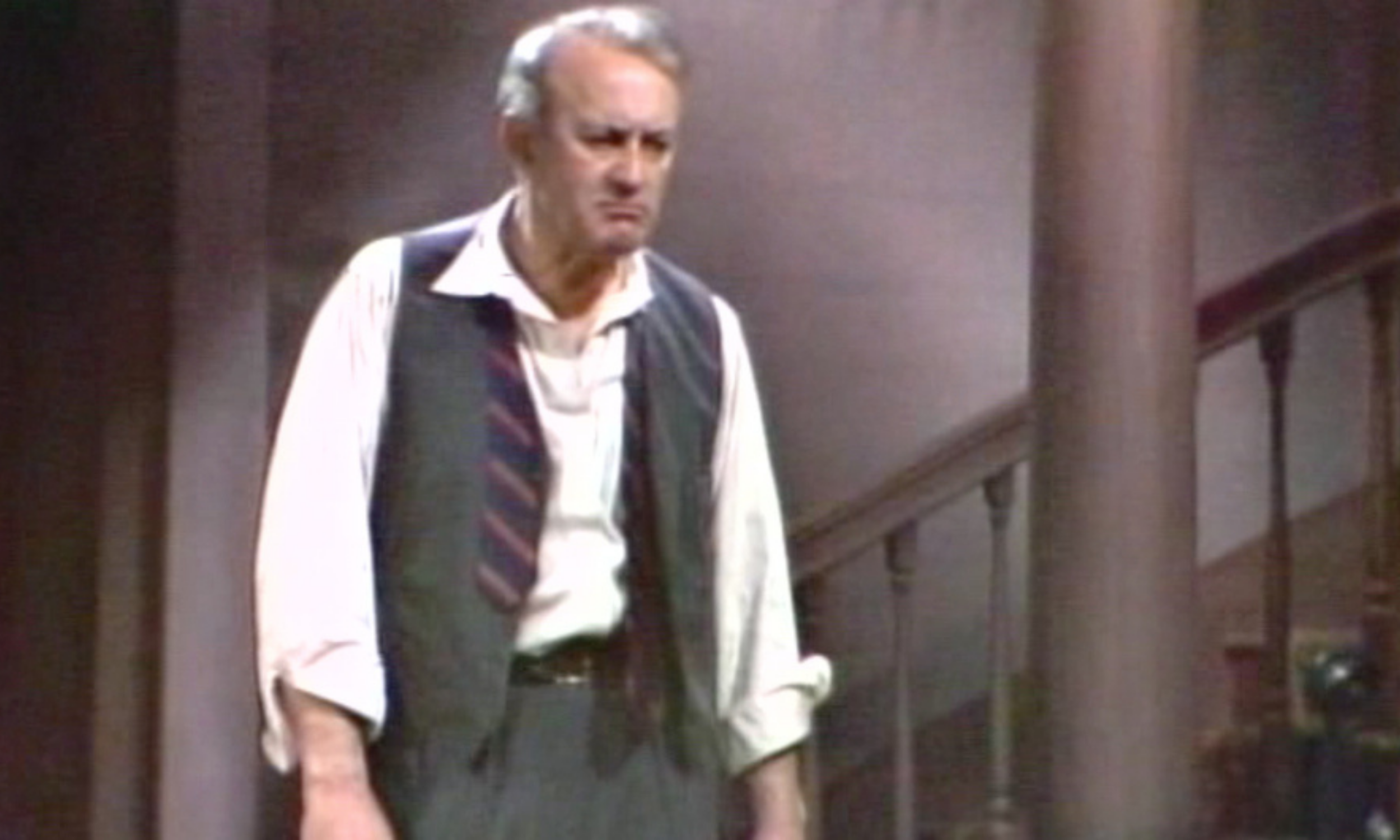 Lee J. Cobb (Willy Loman) in Broadway Digital Archive's Death of a Salesman