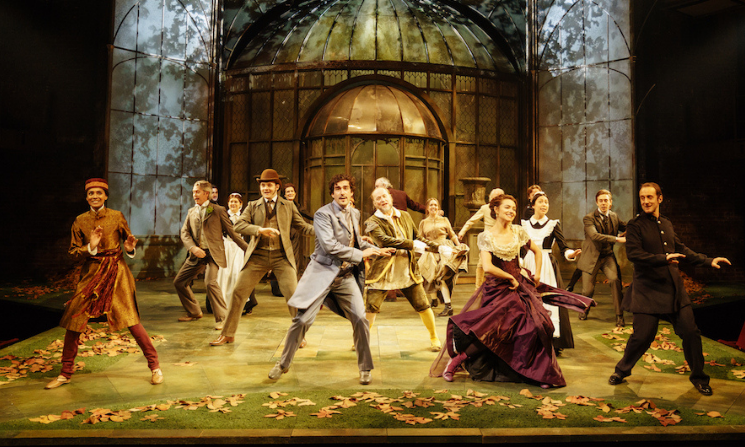 The cast of the RSC's Twelfth Night