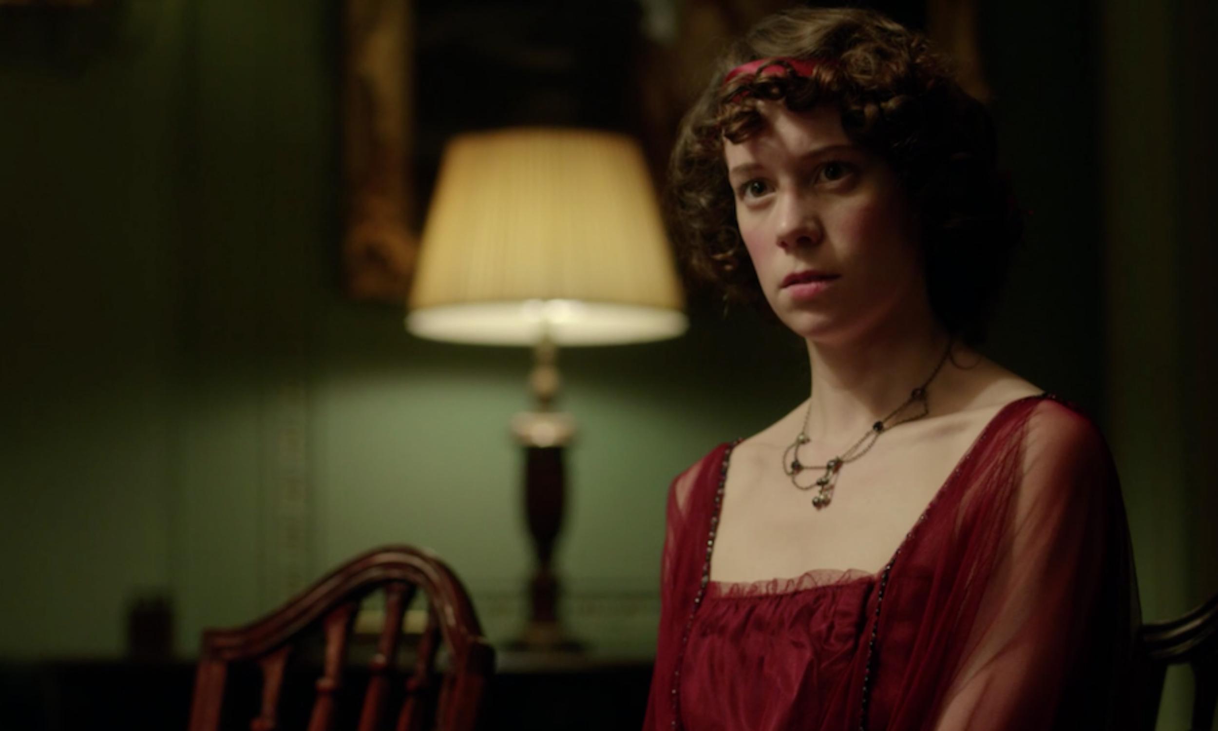 Chloe Pirrie (Sheila) in BBC Studios' An Inspector Calls