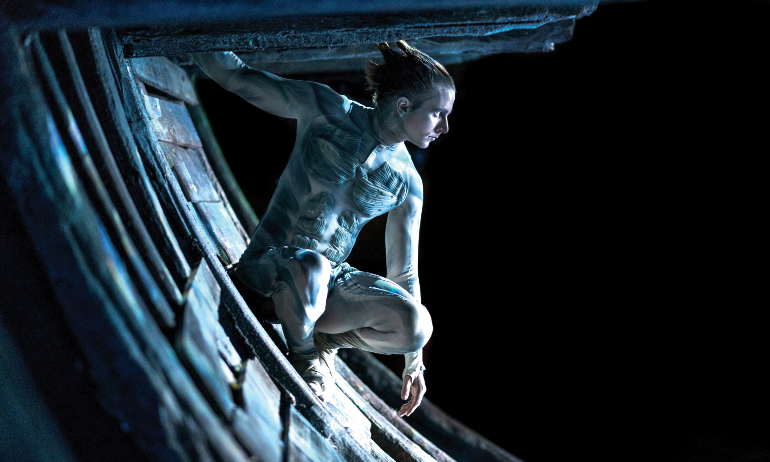 Mark Quartley (Ariel) in The Tempest | Royal Shakespeare Company © Topher McGrillis