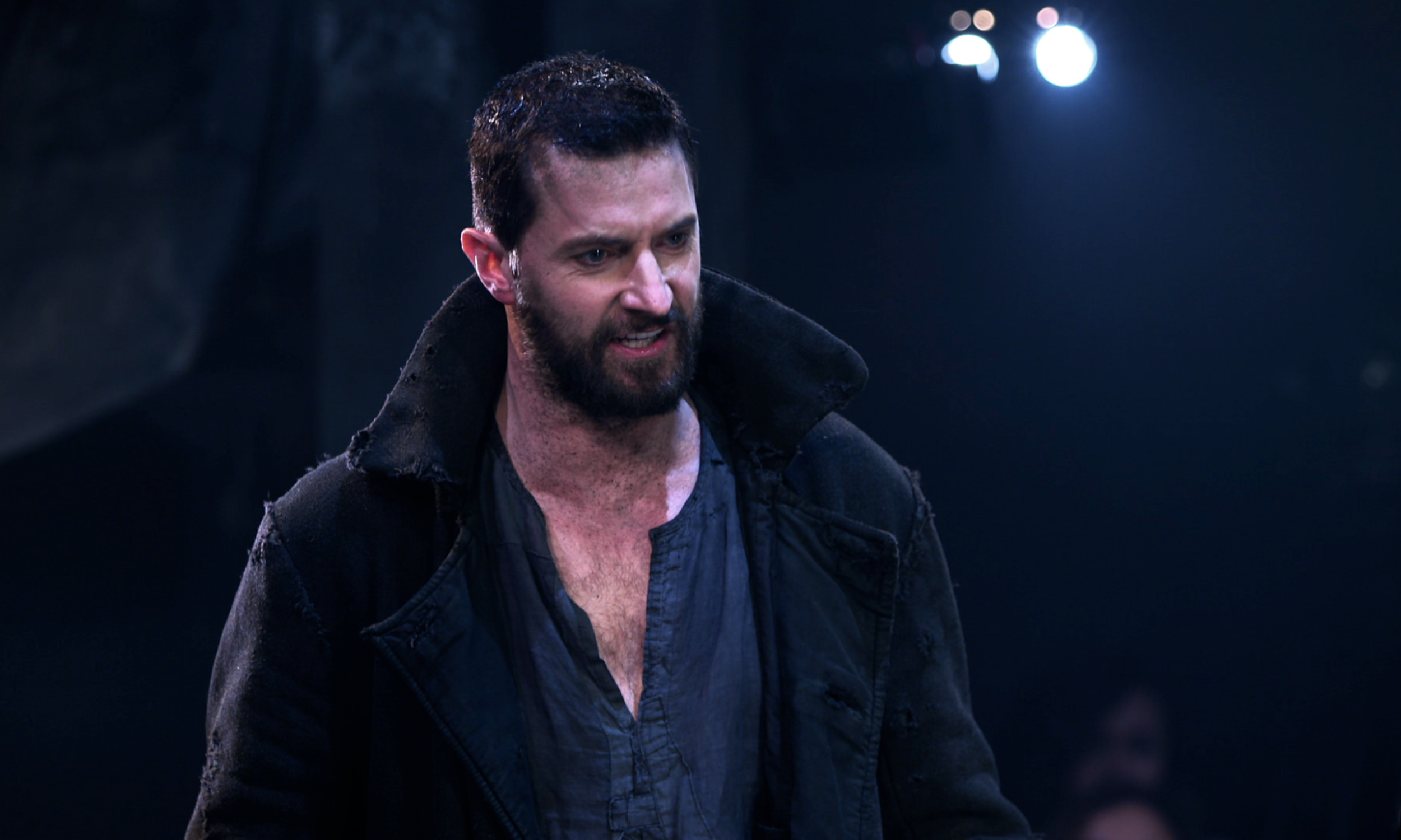 Richard Armitage as John Proctor in the Old Vic's The Crucible © Johan Persson