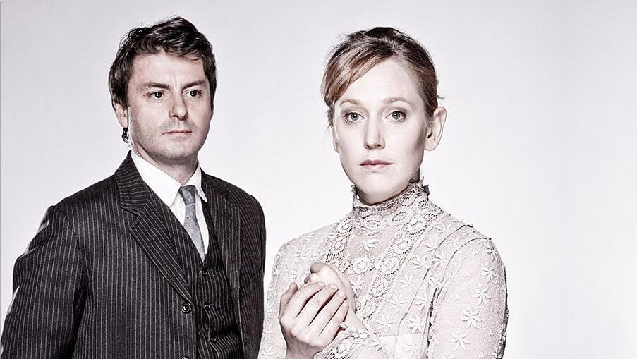 Dominic Rowan (Torvald) and Hattie Morahan (Nora) in A Doll's House | Young Vic