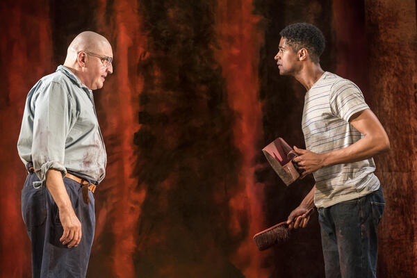 Alfred Molina and Alfred Enoch in Red. Photo by Johan Persson. (title image)3