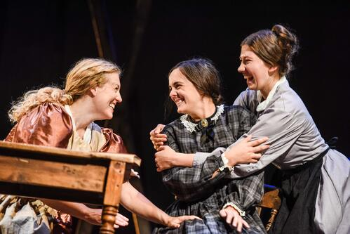 The cast of Jane Eyre | Blackeyed Theatre © Alex Harvey-Brown