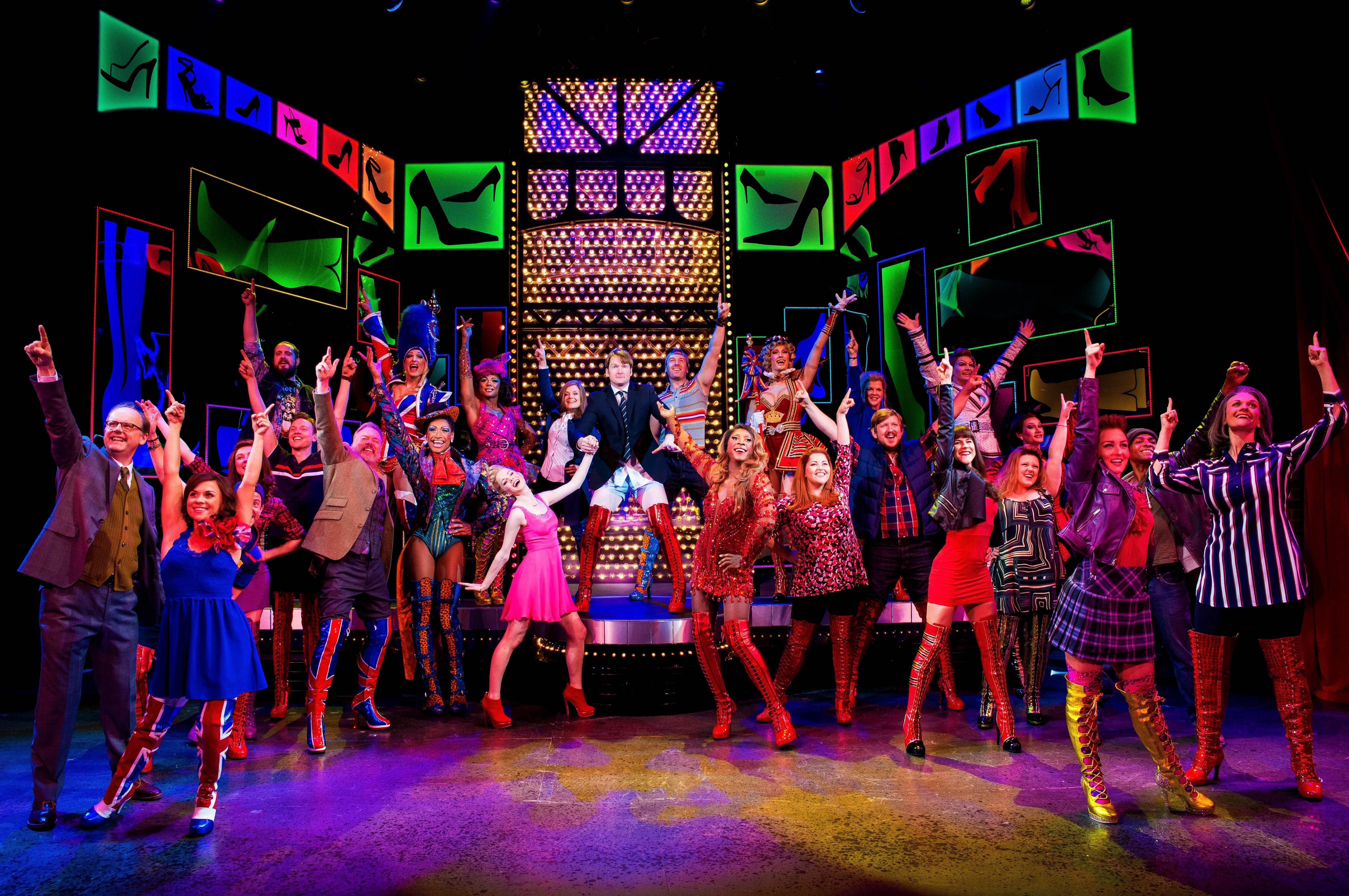 The cast of Kinky Boots | BroadwayHD © Matt Crockett