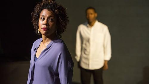 Karen Pittman (Nya) and Namir Smallwood (Omari) in Pipeline | BroadwayHD © Jeremy Daniel